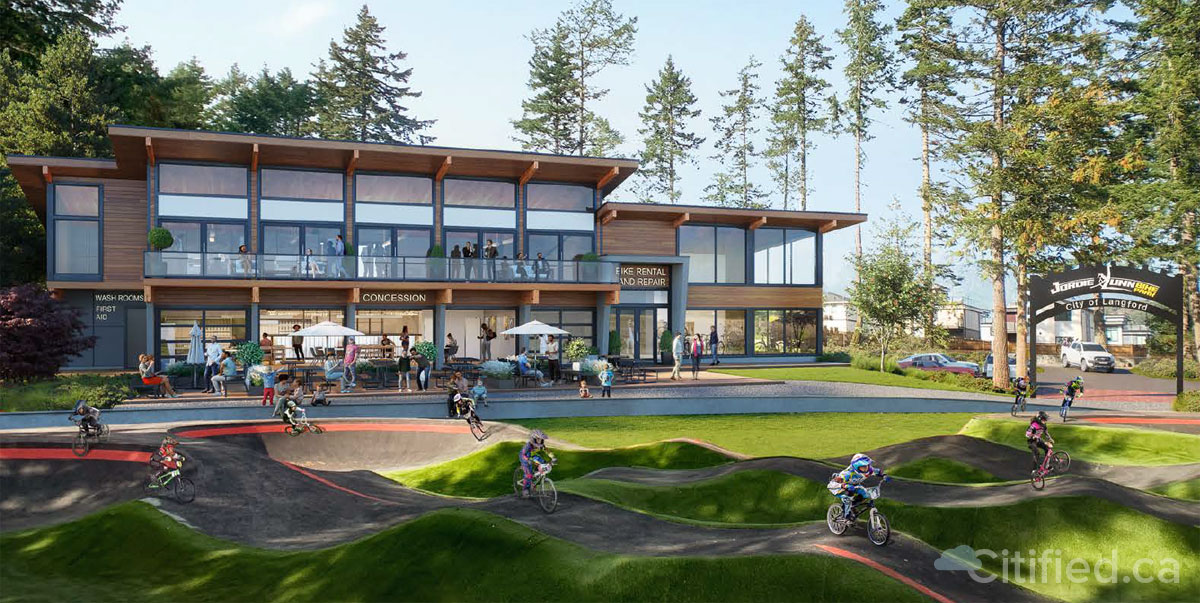 Langford planning 'Wheelhouse' cycling facility and cafeteria adjacent to Jordie Lunn Bike Park