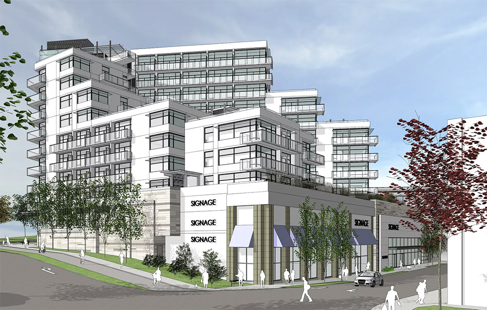 Update: 134 rental residences planned for 11-storey tower at Uptown Shopping Centre