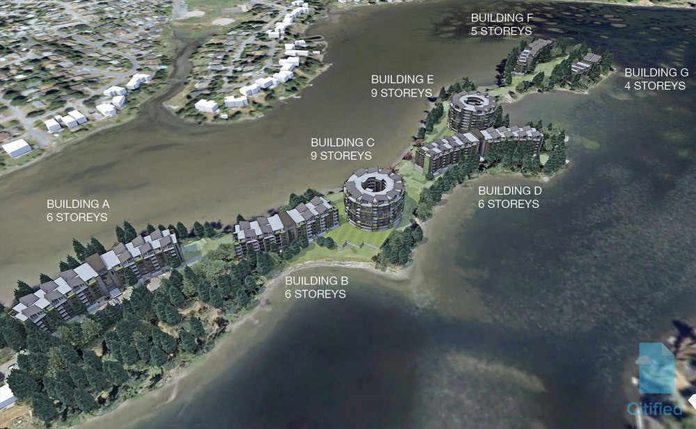 Vision revealed for seaside rental development in View Royal