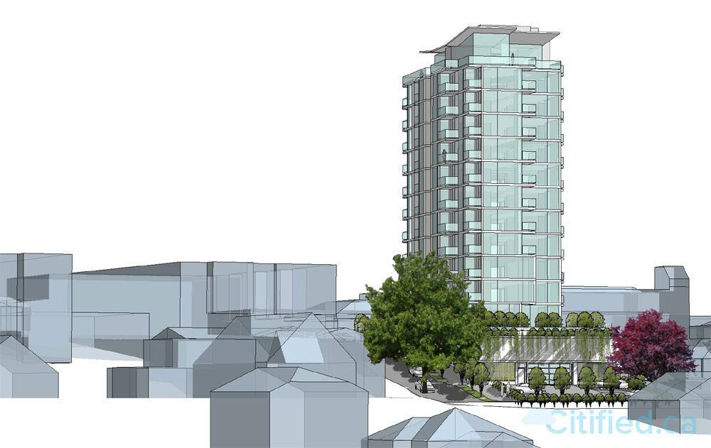 Highrise tower planned for site of Esquimalt's shuttered Super Low Food Market