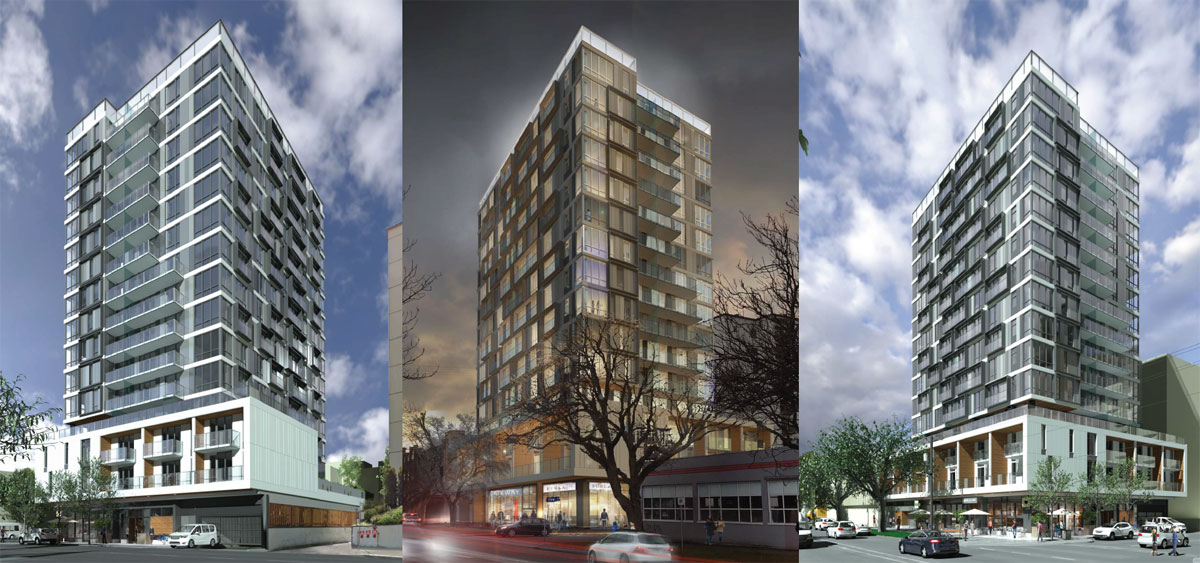 15-storey Pluto's Diner condo proposal a point of contention for Downtown Residents Association