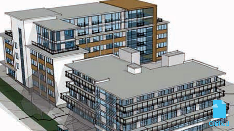 Condos eyed for aged Medical Arts block on Pandora at Cook