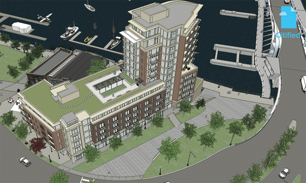 Old Town proposal unveils 12-storey tower, restoration of Northern Junk buildings