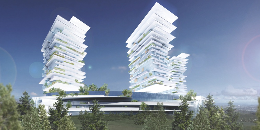 Striking multi-tower vision unveiled for Langford's Bear Mountain community