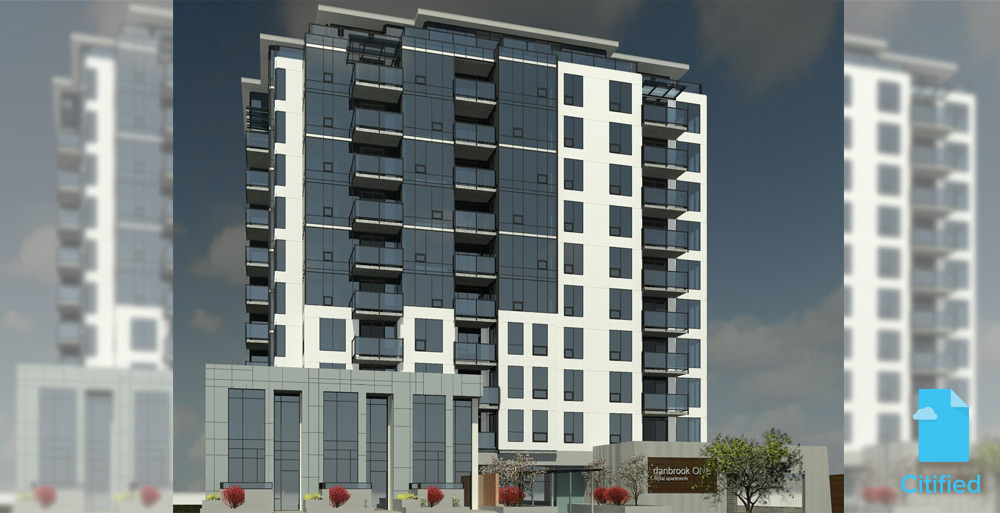Construction starts on downtown Langford's tallest building