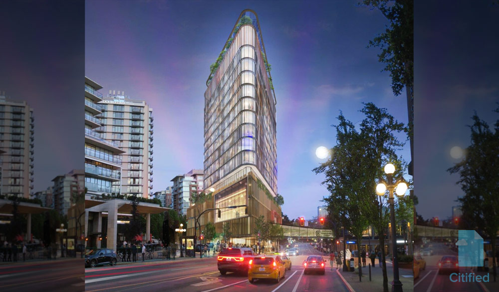 Design comp for property next to Crystal Gardens draws six entrants; City mum on alleged winner
