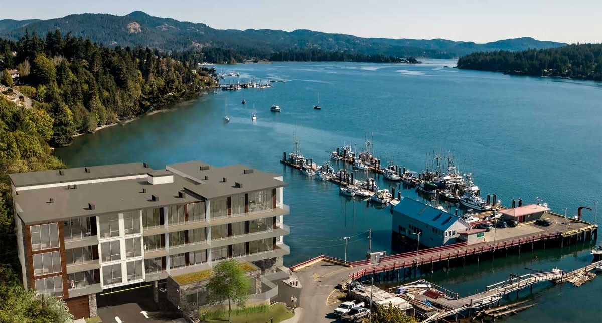 Residences on Sooke Harbour condo dev on-track for construction start as sales breach 50%