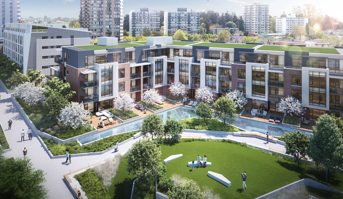 James Bay's Capital Park project an environmental leader with LEED Platinum and Gold buildings