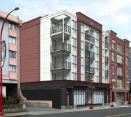 Approvals sought for amended Chinatown condo proposal at 613 Herald Street