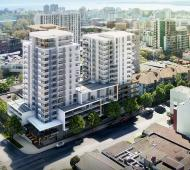 Downtown condo development nears sales launch as crews begin excavation