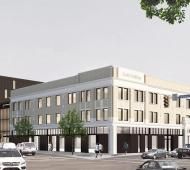 Scott Building transformation and adjacent parking lot redevelopment to yield over 90 rental units