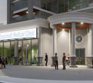 Urgent care medical clinic pitched as a tenant of proposed Esquimalt condo tower