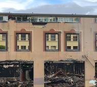 New vision for fire-ravaged Victoria Plaza Hotel property to be unveiled later this year