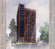 Colwood Lodge redevelopment could yield 15-storey affordable rental tower at Colwood Corners