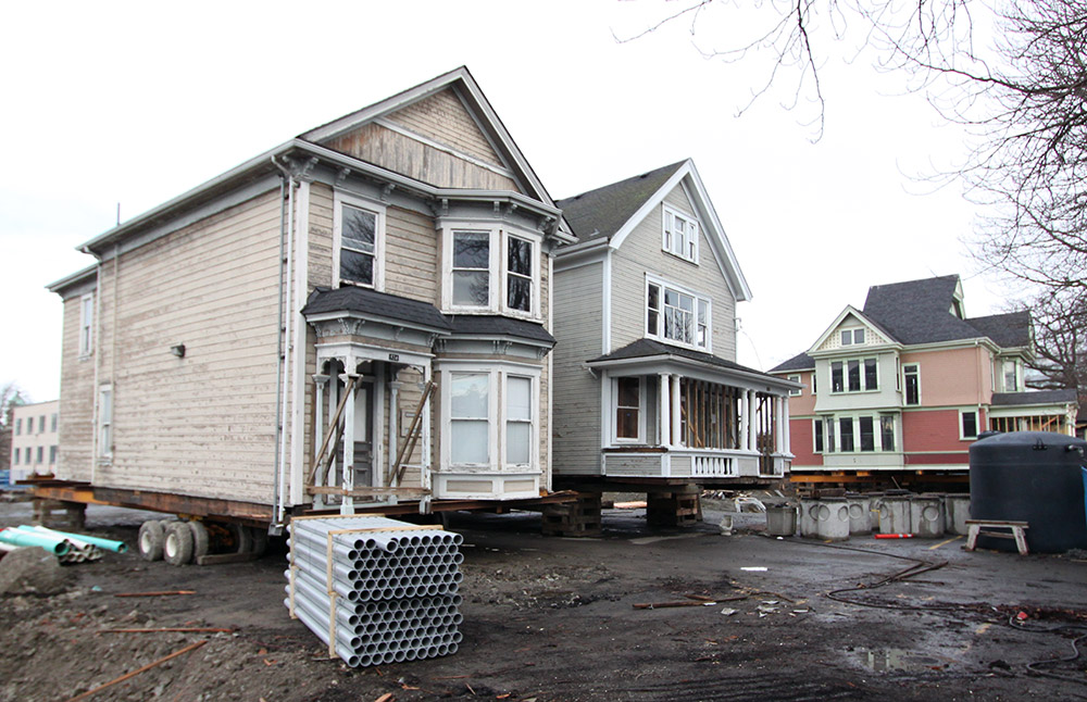 James Bay heritage homes on the move: seafaring relocation will be a sight to see
