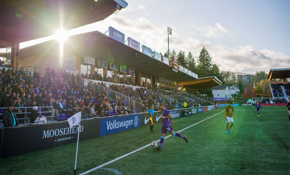 Toronto-based developer secures naming rights for Langford's Westhills Stadium, home of Pacific F.C.