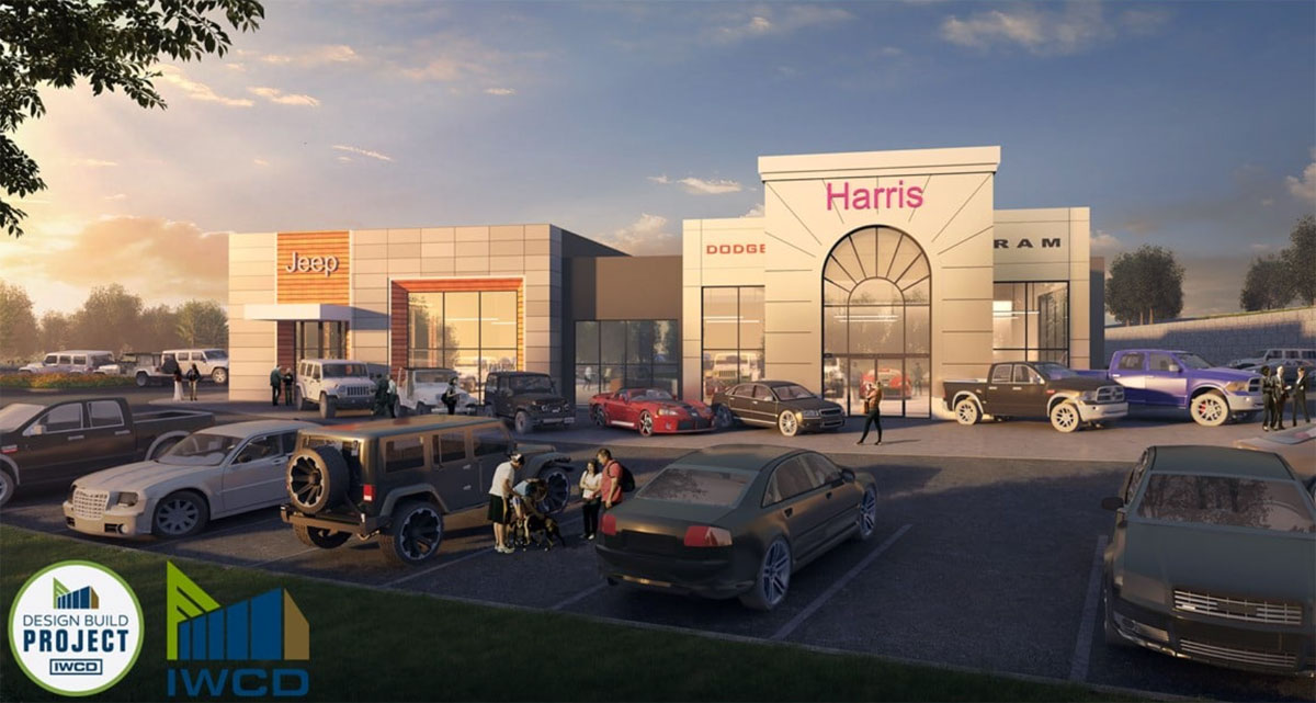 Downtown Victoria's Harris auto dealership starts construction on new digs next to Lowe's on the West Shore