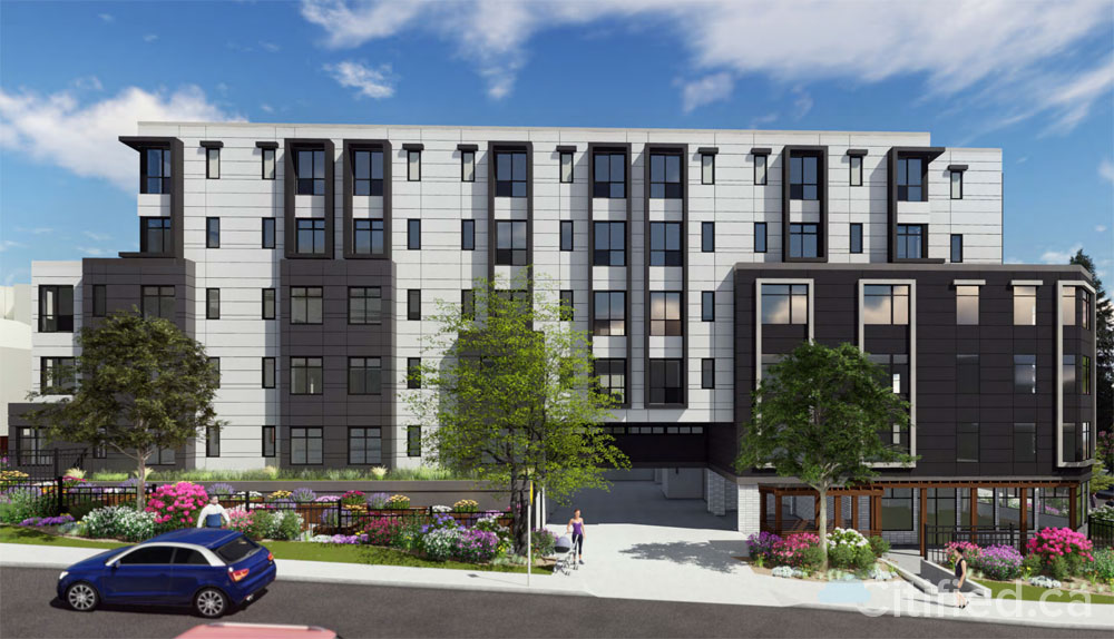 82-units of affordable and supportive housing proposed for Gorge Road
