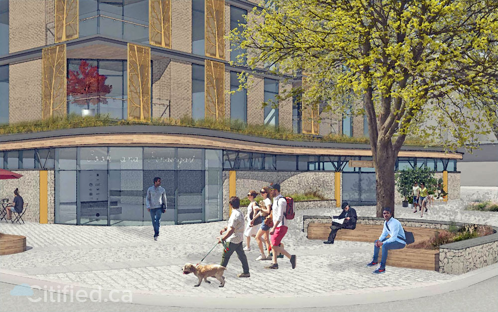 Plans for 'Pic-A-Flic Video' redevelopment proposal unveiled