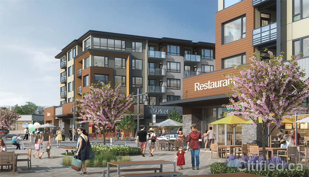 Over 150 rentals slated for Langford's Thrifty Foods-anchored Belmont Market