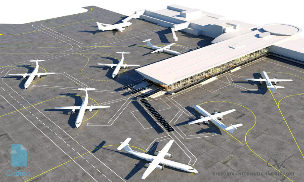 27-month terminal expansion project underway at Victoria International Airport
