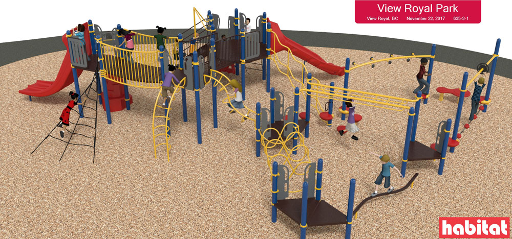 Over $180,000 in playground improvements coming to View Royal