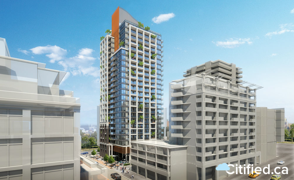 Victoria approves 25-storey Hudson Place One, Vancouver Island's tallest building