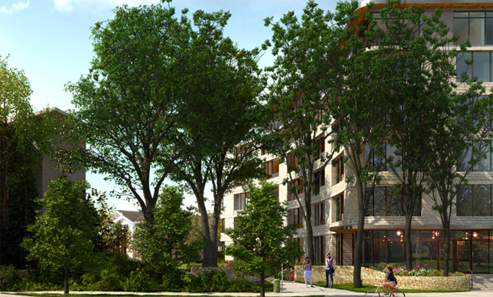 Victoria approves Bellewood Park condo dev on Rockland's Truth Centre site
