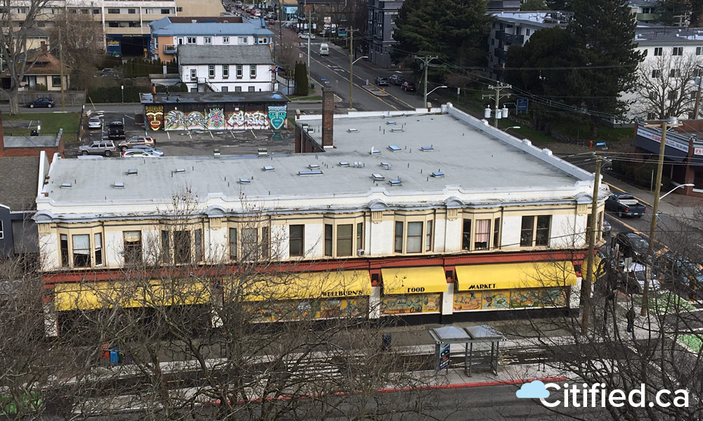 Wellburn's Market redev to retain heritage facade, deliver over 80 rentals to North Park