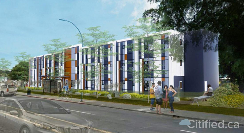 BC Housing announces replacement plans for Evergreen Terrace townhomes lost to fire