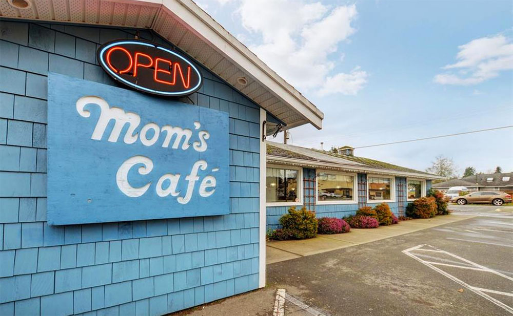 Sooke landmark and popular diner Mom's Cafe has been listed for sale