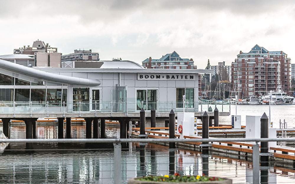 Victoria's newest waterfront restaurant to open this spring alongside the Inner Harbour