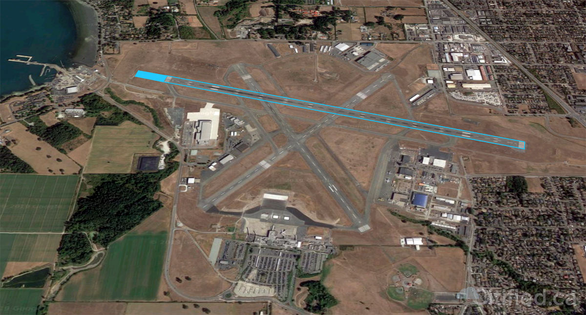 600 foot runway extension at Victoria International Airport eyed for 2023-2024