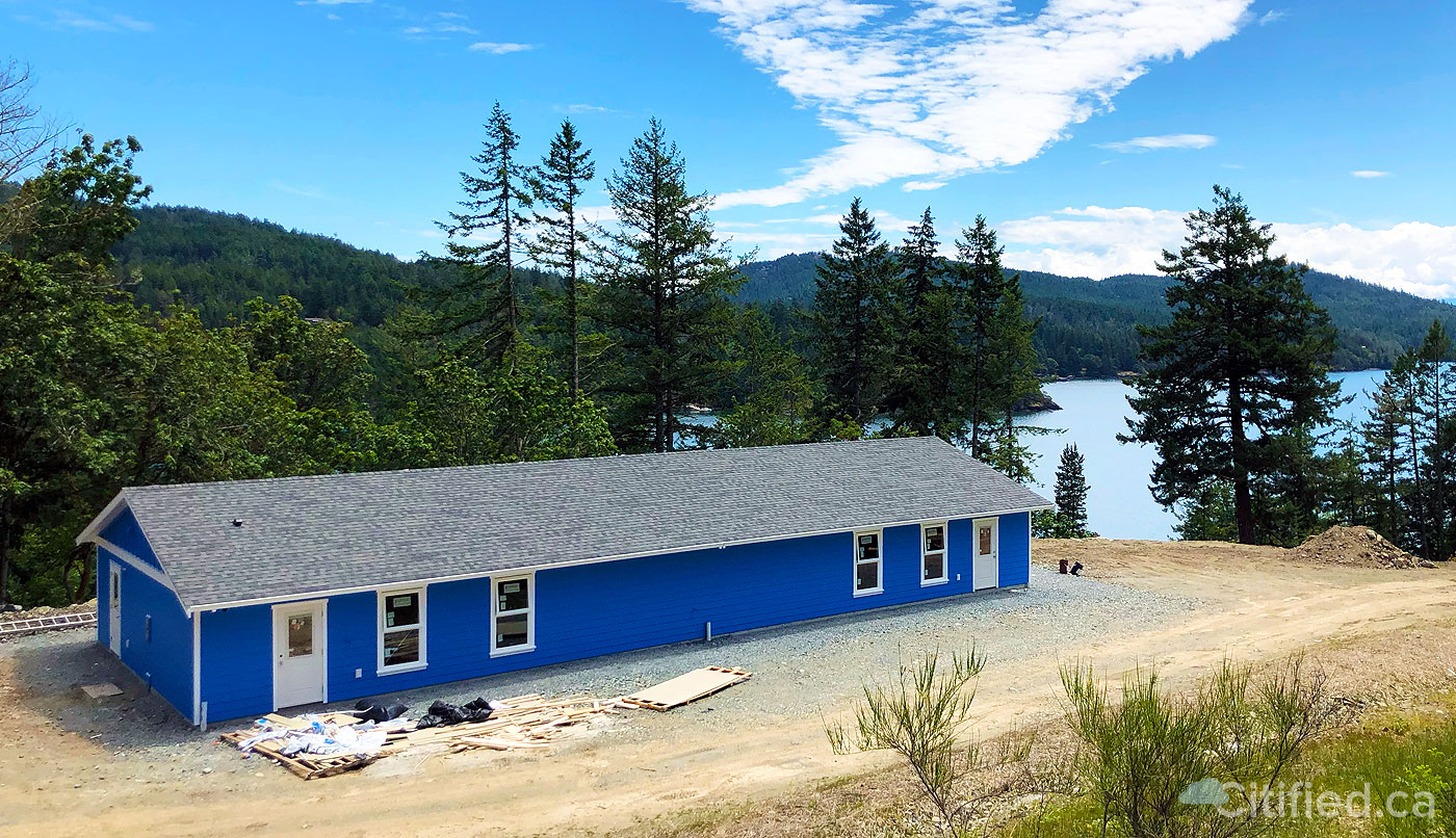 Daycare with a million dollar view and ocean access nears completion in Sooke