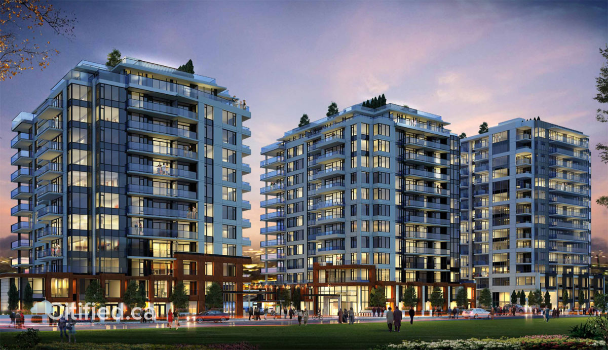 Dockside Green's comeback could yield 369 condo and rental residences across three towers