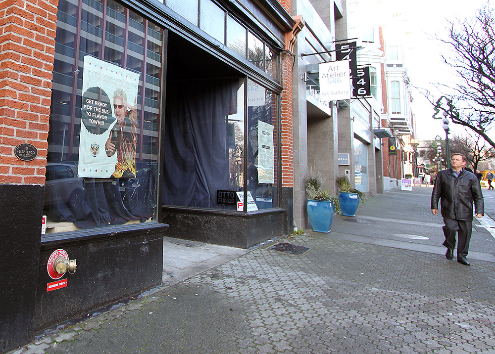 Mystery behind lower Yates Street storefront revealed