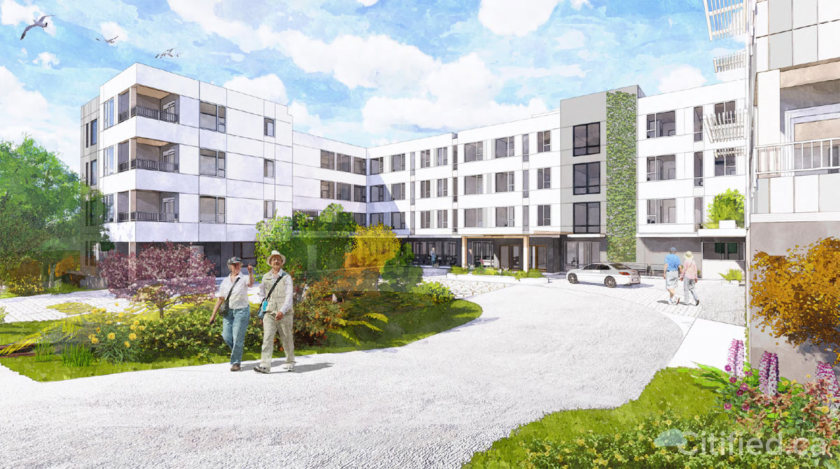 Saanich approves 97-unit Linwood Avenue affordable seniors home