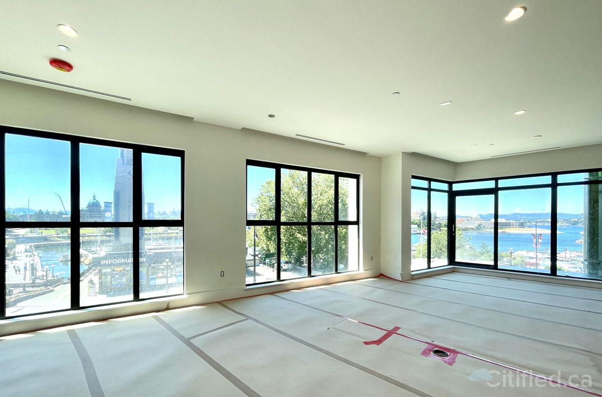 Interior, new-build suite.