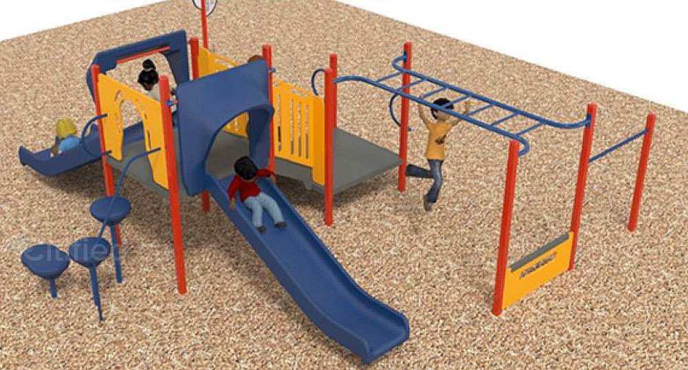 View Royal Park's separate play area for children aged 2-to-5.