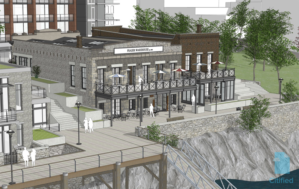 First look: mixed-use Johnson Street Gateway project to restore Northern Junk buildings, add 124 condos to Old Town