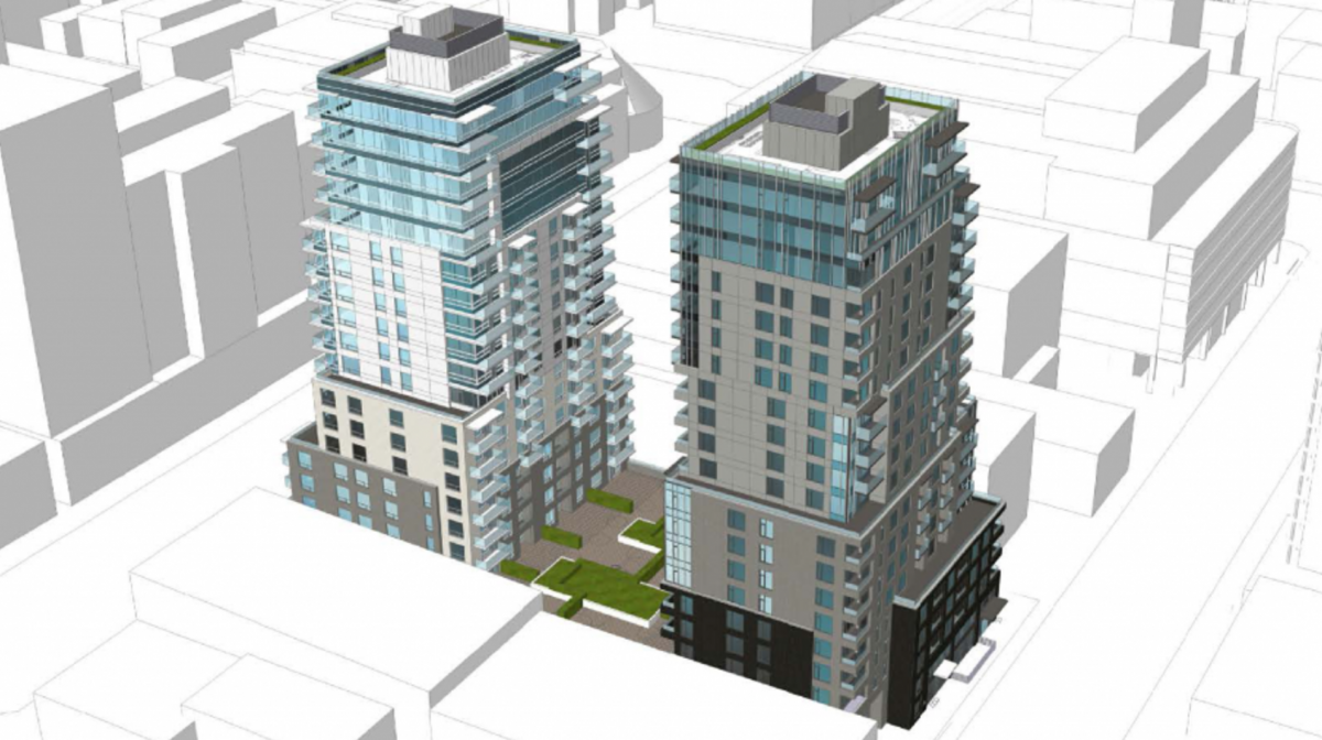 Victoria council approves trio of downtown residential towers