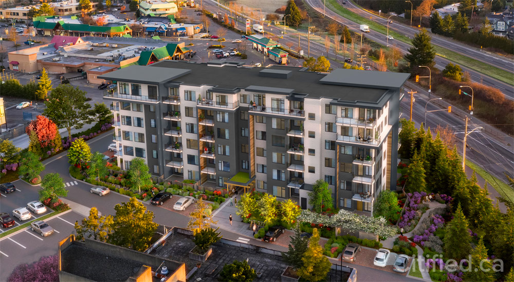 Radius at Royal Oak: Condo-quality apartment rentals coming soon to Saanich