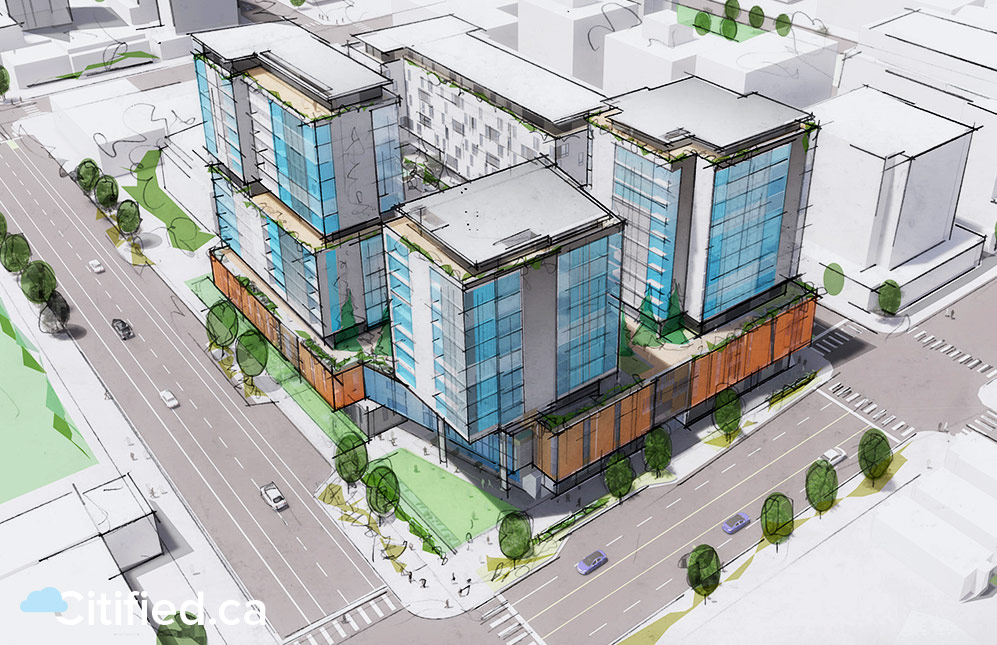 First look: Victoria's new fire hall and the redevelopment of Pacific Mazda