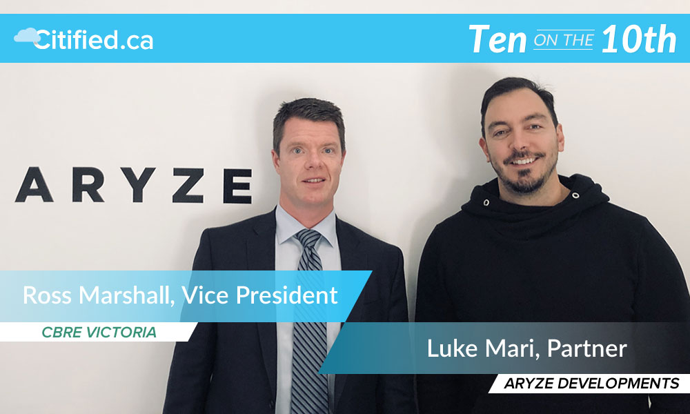 Ten on the 10th: real-estate development Q&A with Luke Mari and Ryan Goodman of Aryze Developments