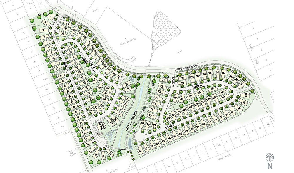 20-acre Otter Point Road subdivision in Sooke's town centre has sold; zoned for 127 homes