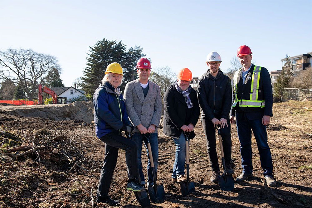 Construction of Rockland's Bellewood Park condominium and townhome project gets underway