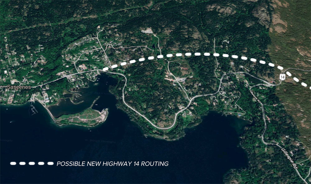 Land buys on the table as Sooke Road/Highway 14 re-alignment draws closer