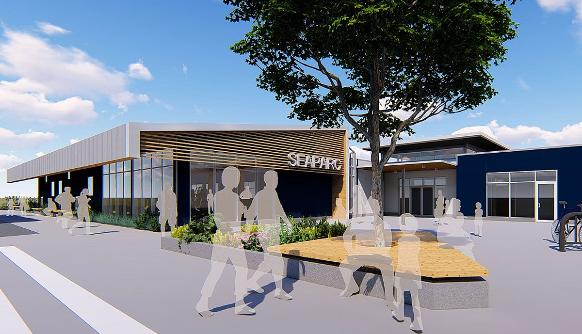 Construction start nears for Sooke's SEAPARC Leisure Complex fitness gym addition