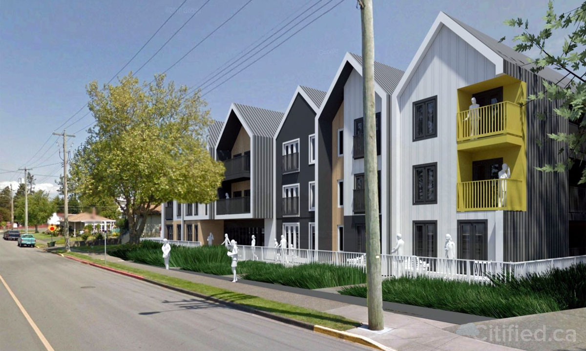 73-unit rental complex pitched for Fifth Street at Malaview Avenue in downtown Sidney
