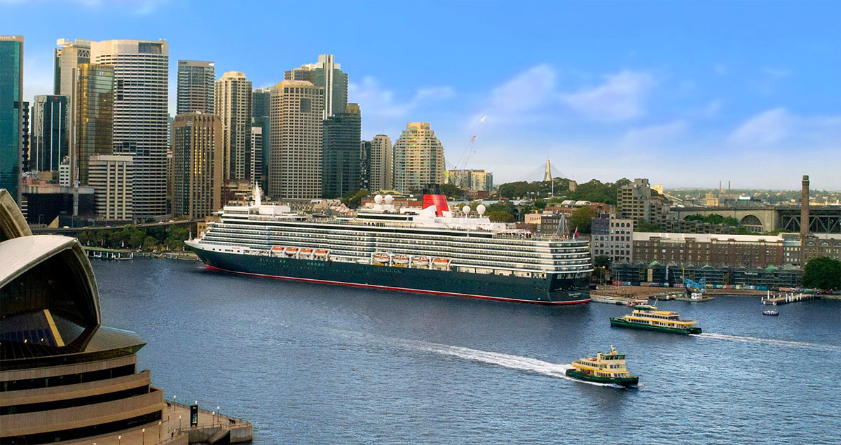 Cunard Line's luxurious Queen Elizabeth cruise ship scheduled for inaugural visit to Victoria